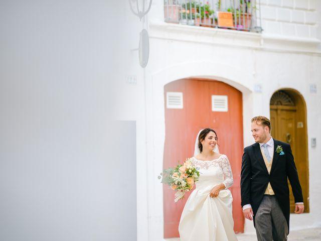 Il matrimonio di Janine e Florian a Fasano, Brindisi 12