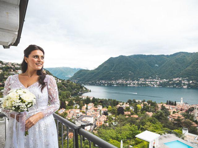 Il matrimonio di Ibrahim e Sabrina a Cernobbio, Como 56