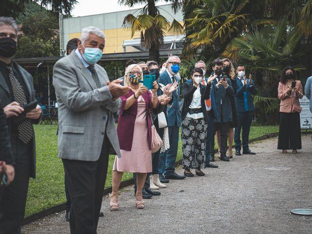 Il matrimonio di Ibrahim e Sabrina a Cernobbio, Como 75