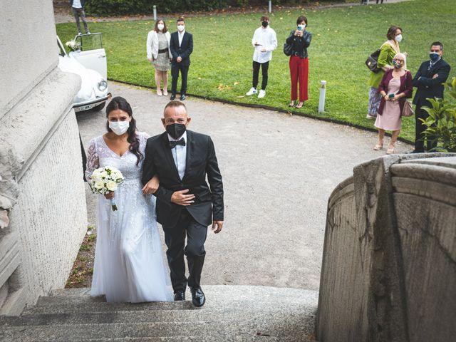 Il matrimonio di Ibrahim e Sabrina a Cernobbio, Como 77