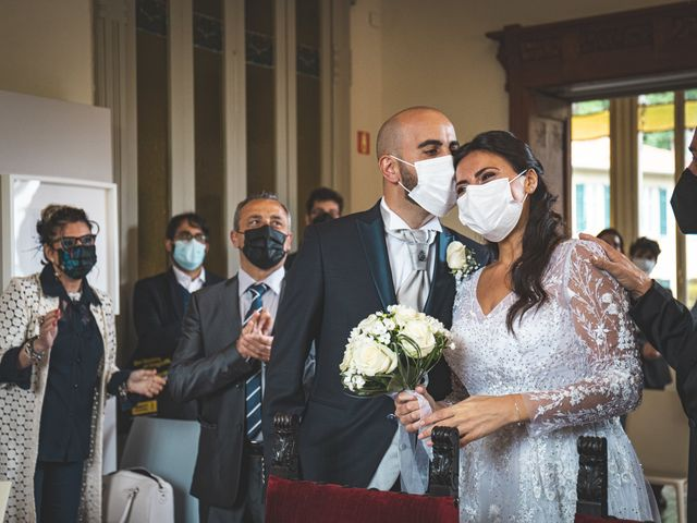 Il matrimonio di Ibrahim e Sabrina a Cernobbio, Como 79
