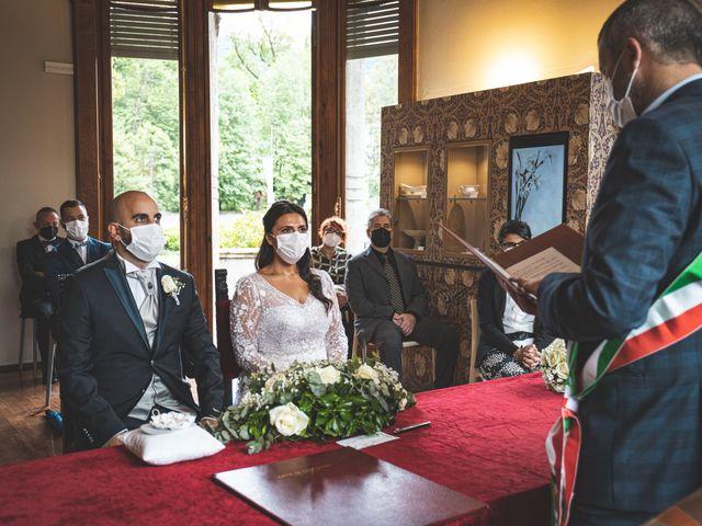 Il matrimonio di Ibrahim e Sabrina a Cernobbio, Como 80