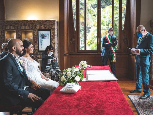 Il matrimonio di Ibrahim e Sabrina a Cernobbio, Como 88