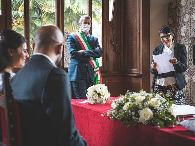 Il matrimonio di Ibrahim e Sabrina a Cernobbio, Como 89