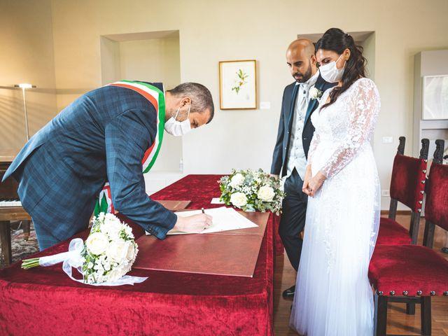 Il matrimonio di Ibrahim e Sabrina a Cernobbio, Como 95