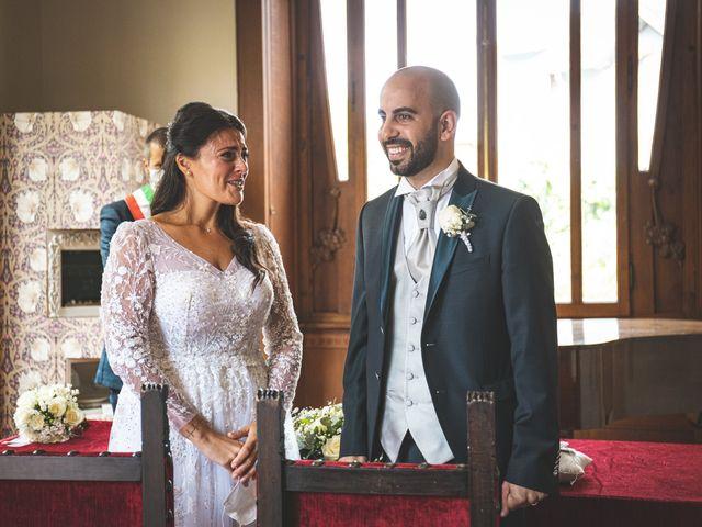 Il matrimonio di Ibrahim e Sabrina a Cernobbio, Como 96