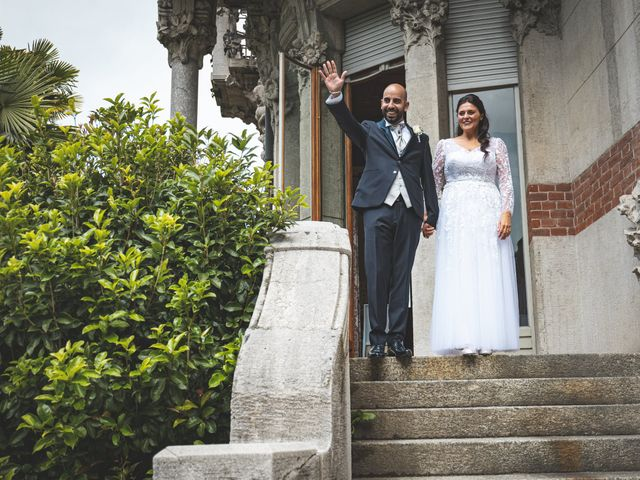 Il matrimonio di Ibrahim e Sabrina a Cernobbio, Como 98