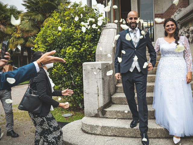 Il matrimonio di Ibrahim e Sabrina a Cernobbio, Como 99