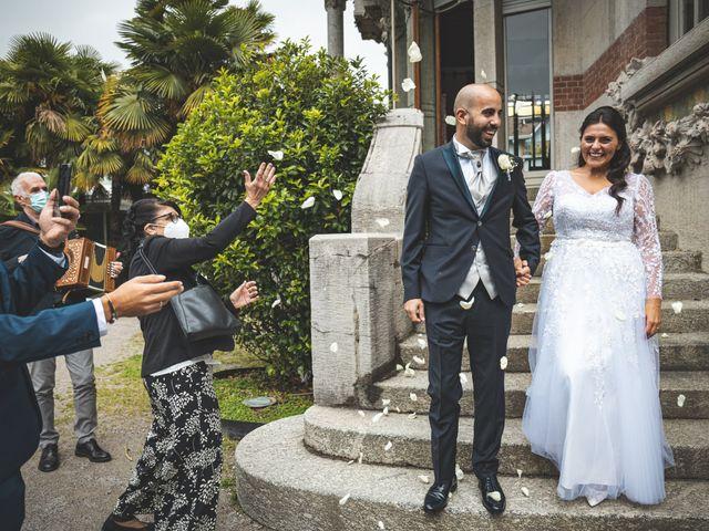 Il matrimonio di Ibrahim e Sabrina a Cernobbio, Como 100