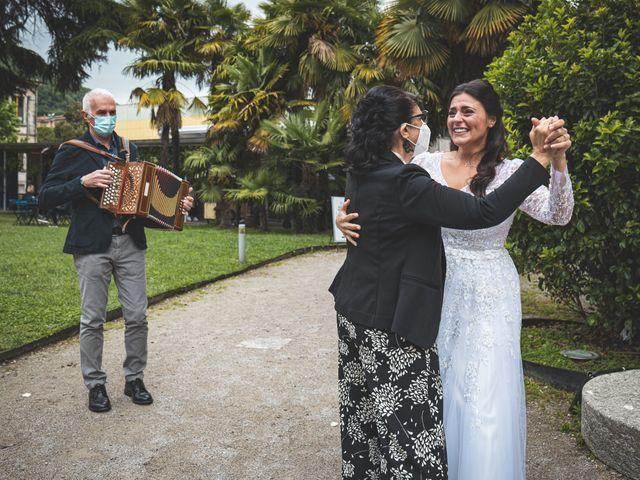 Il matrimonio di Ibrahim e Sabrina a Cernobbio, Como 103