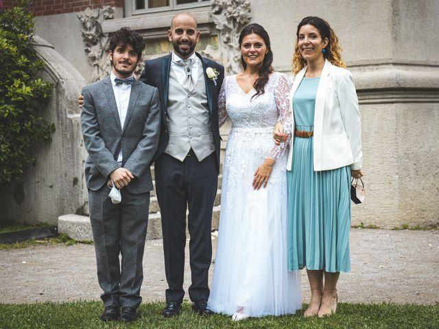 Il matrimonio di Ibrahim e Sabrina a Cernobbio, Como 110