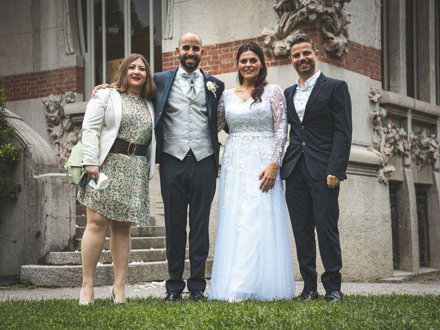 Il matrimonio di Ibrahim e Sabrina a Cernobbio, Como 113
