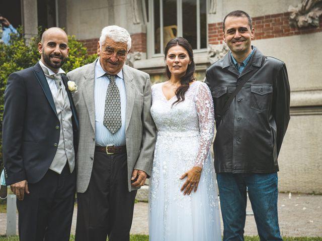 Il matrimonio di Ibrahim e Sabrina a Cernobbio, Como 114