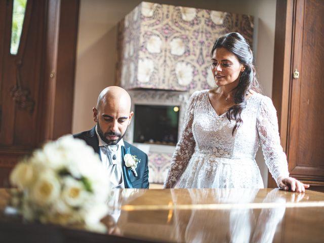 Il matrimonio di Ibrahim e Sabrina a Cernobbio, Como 119
