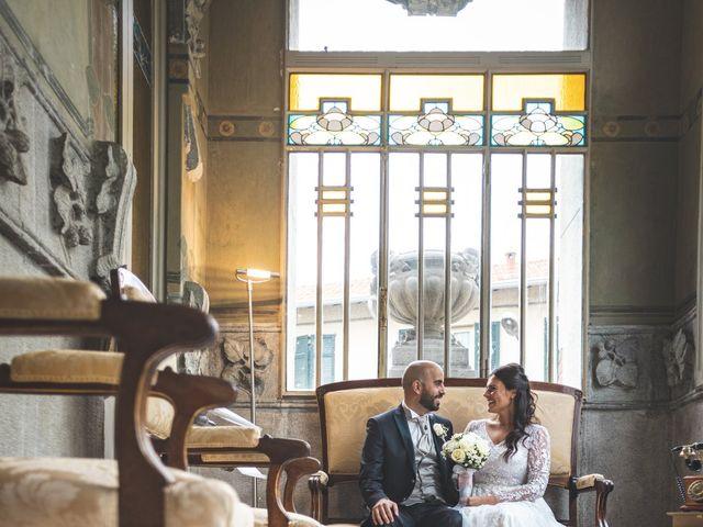 Il matrimonio di Ibrahim e Sabrina a Cernobbio, Como 123