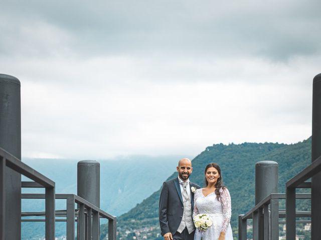 Il matrimonio di Ibrahim e Sabrina a Cernobbio, Como 132