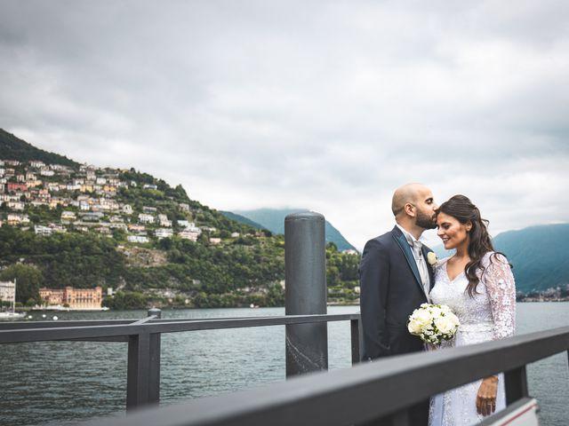 Il matrimonio di Ibrahim e Sabrina a Cernobbio, Como 138