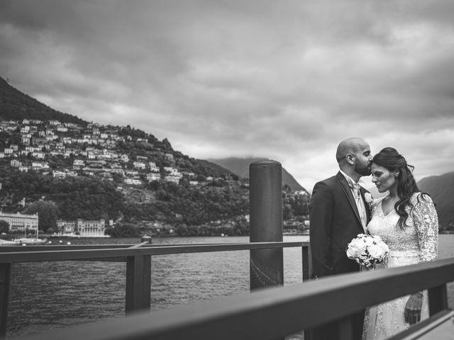 Il matrimonio di Ibrahim e Sabrina a Cernobbio, Como 139