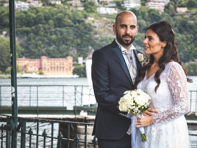 Il matrimonio di Ibrahim e Sabrina a Cernobbio, Como 147