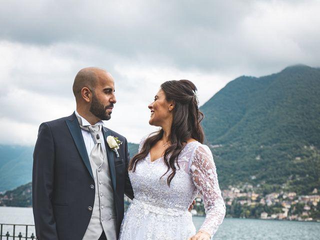 Il matrimonio di Ibrahim e Sabrina a Cernobbio, Como 149