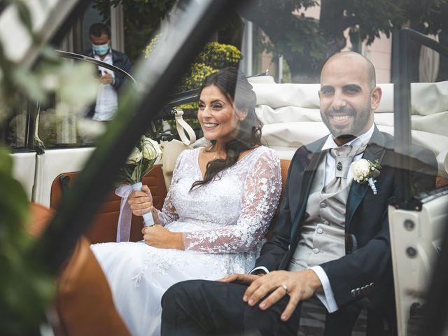 Il matrimonio di Ibrahim e Sabrina a Cernobbio, Como 153