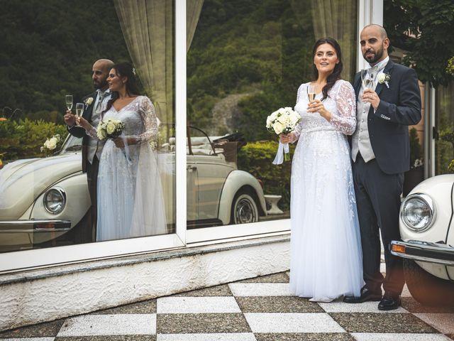 Il matrimonio di Ibrahim e Sabrina a Cernobbio, Como 159