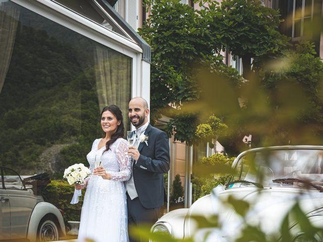 Il matrimonio di Ibrahim e Sabrina a Cernobbio, Como 160