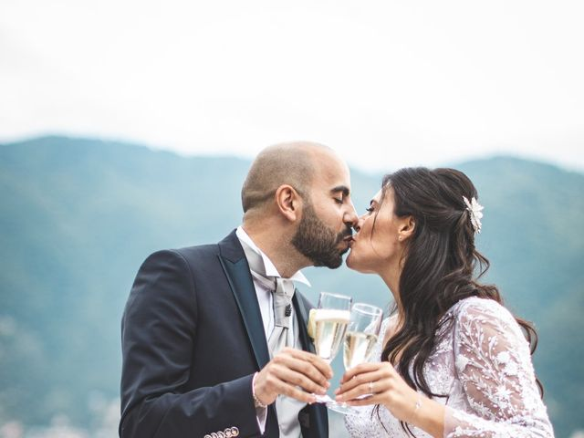 Il matrimonio di Ibrahim e Sabrina a Cernobbio, Como 195