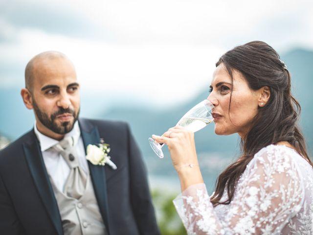 Il matrimonio di Ibrahim e Sabrina a Cernobbio, Como 196