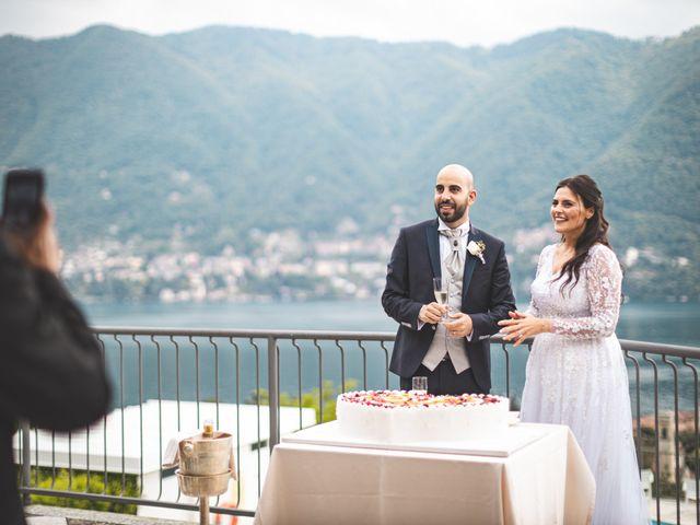Il matrimonio di Ibrahim e Sabrina a Cernobbio, Como 199