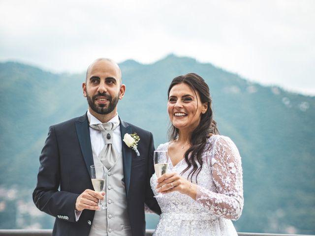 Il matrimonio di Ibrahim e Sabrina a Cernobbio, Como 201