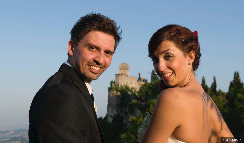 Il matrimonio di Emanuel e Claudia a San Marino, San Marino