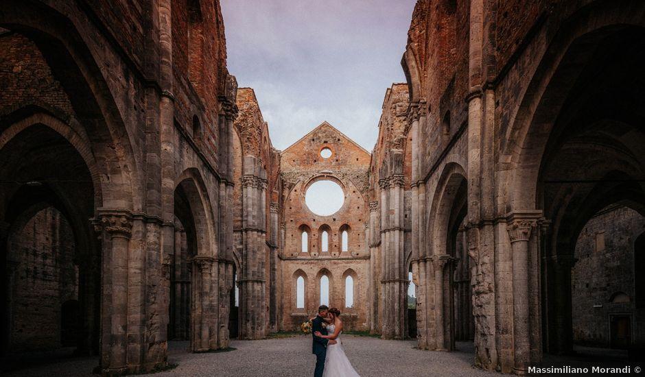 Il matrimonio di Andrea e Serena a Chiusdino, Siena