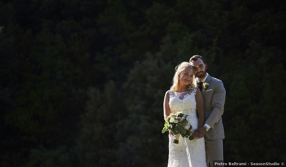 Il matrimonio di Eleonor e Wisam a Sovicille, Siena