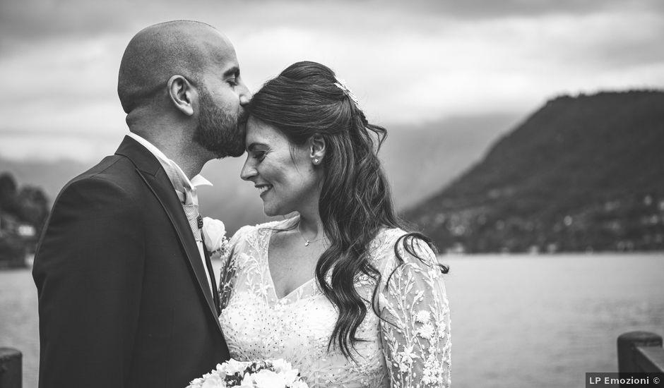 Il matrimonio di Ibrahim e Sabrina a Cernobbio, Como