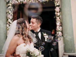 Le nozze di Stefano e Jessica