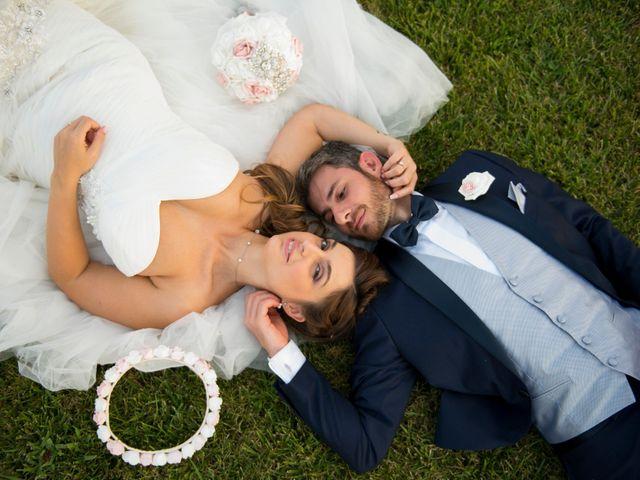 le nozze di Jennifer e Ivan