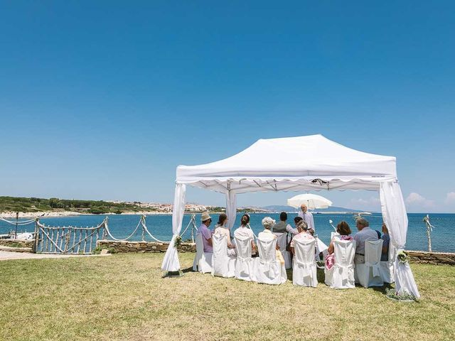 Il matrimonio di Bernhard e Karin a Stintino, Sassari 40