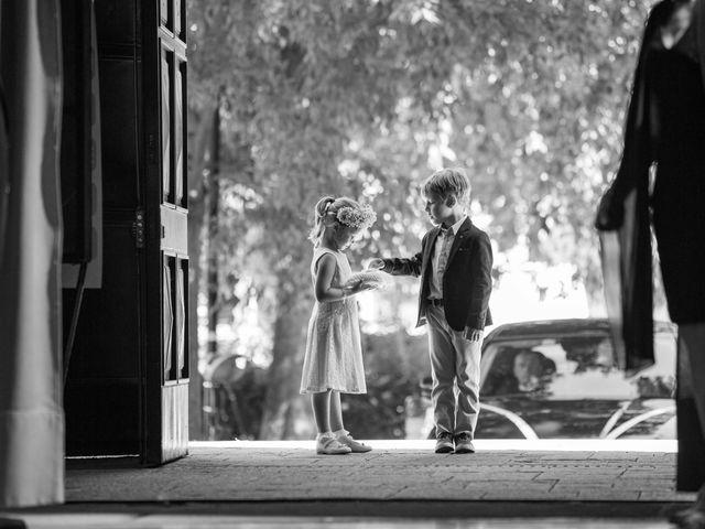 Il matrimonio di Battista e Valeria a Buriasco, Torino 1