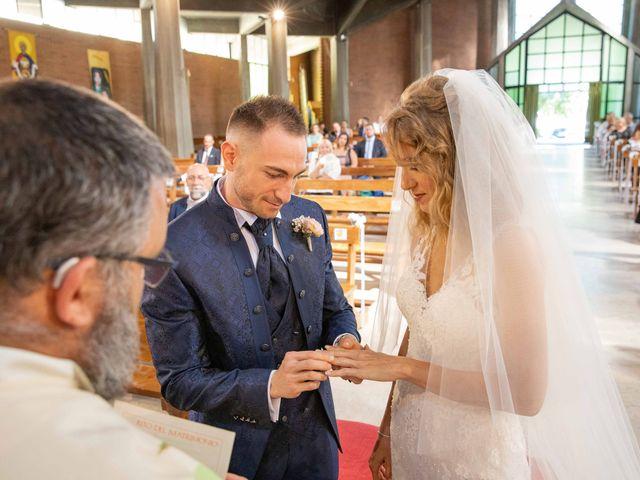 Il matrimonio di Battista e Valeria a Buriasco, Torino 52
