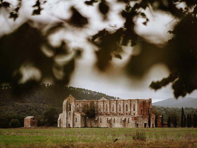 Il matrimonio di Lorenzo e Laura a Chiusdino, Siena 2
