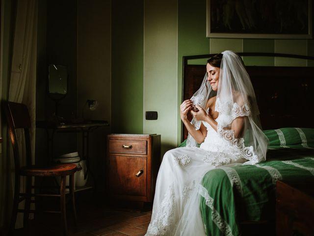 Il matrimonio di Lorenzo e Laura a Chiusdino, Siena 8