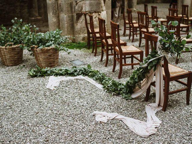 Il matrimonio di Lorenzo e Laura a Chiusdino, Siena 28