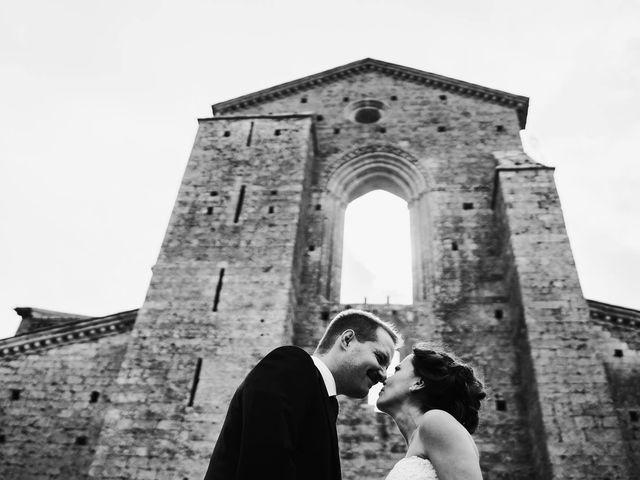Il matrimonio di Lorenzo e Laura a Chiusdino, Siena 45