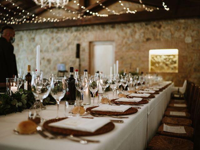 Il matrimonio di Lorenzo e Laura a Chiusdino, Siena 52