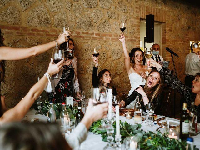 Il matrimonio di Lorenzo e Laura a Chiusdino, Siena 54