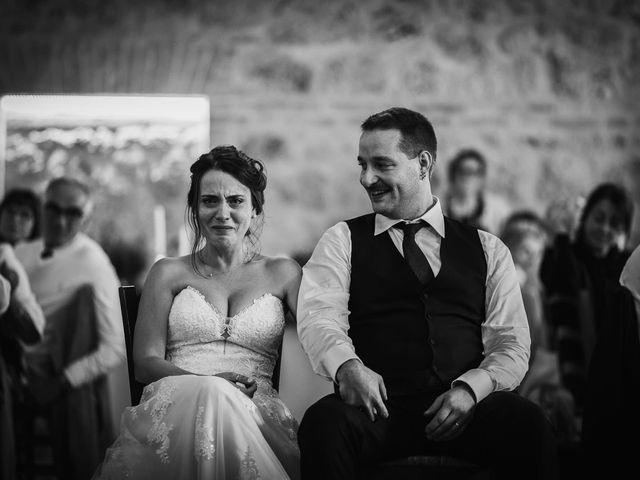 Il matrimonio di Lorenzo e Laura a Chiusdino, Siena 57