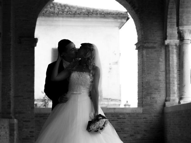 Il matrimonio di Massimo e Angelica a Città Sant'Angelo, Pescara 26