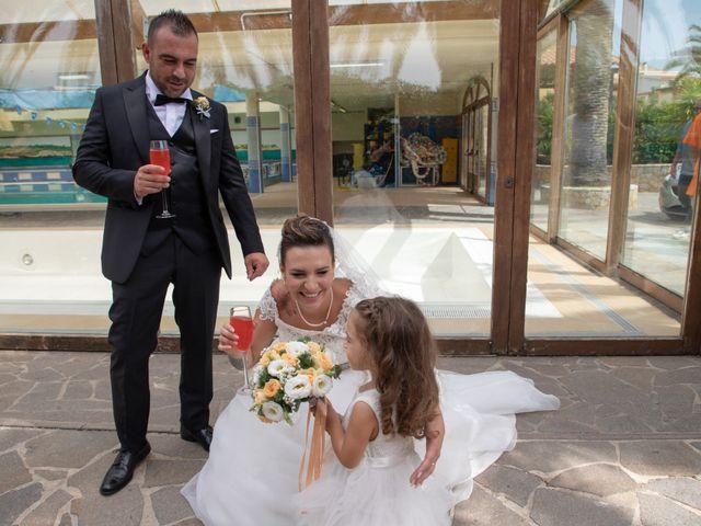 Il matrimonio di Antonello e Martina a Uri, Sassari 174