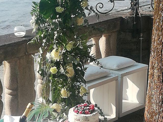 Il matrimonio di Massimo  e Letizia  a Lierna, Como 4